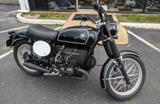 BMW R90/6 Restoration
