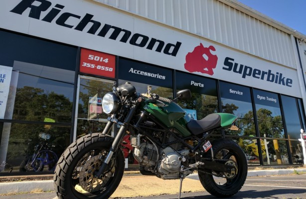 Ducati M900 – Green Monster